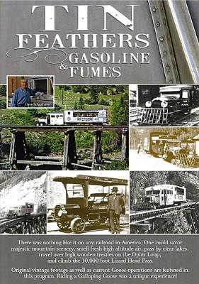 Tin Feathers & Gasoline Fumes - DVD