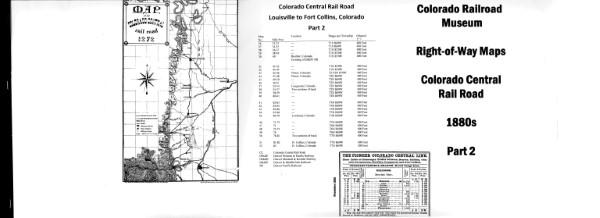 ICC Map Set No. 43 - Colorado Central Part 2