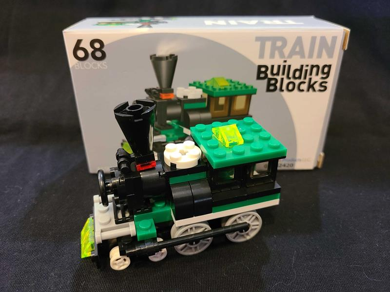 Connecting Block Train 68pc Set,03/8824