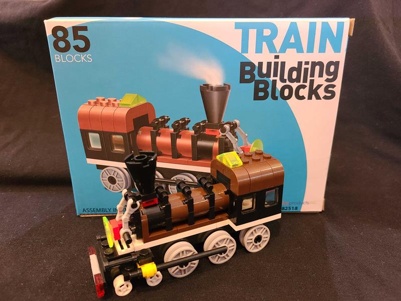 Connecting Block Train 85pc Set,03/8825