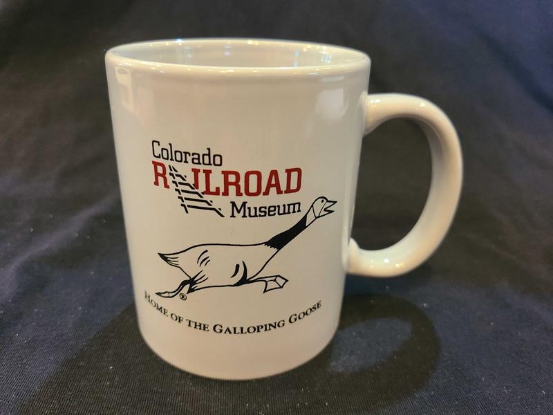 Home of the Galloping Goose Gray Coffee Mug