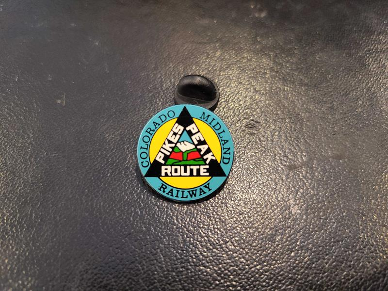 Colorado Midland Pin,CMH
