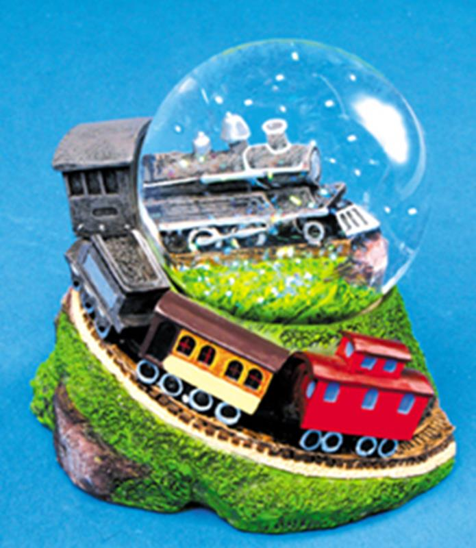 Train Snow Globe,1AN-TWG