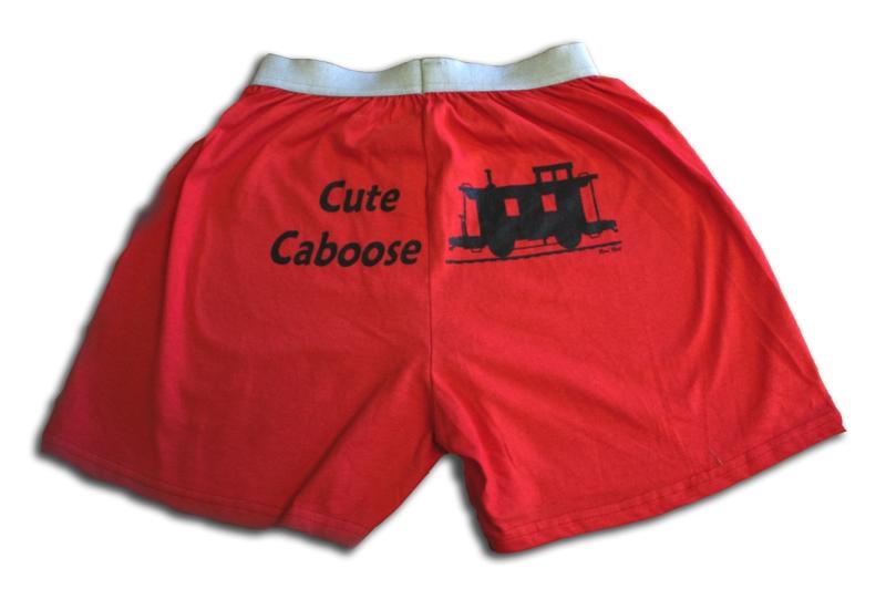 Cute Caboose Boxers,1BOX-CCS