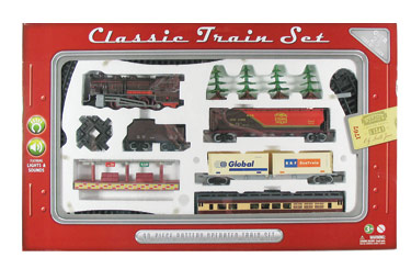 Deluxe Classic Train Set - 40 pieces,WT-TR40