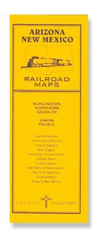Pocket RR Map: Arizona/New Mexico