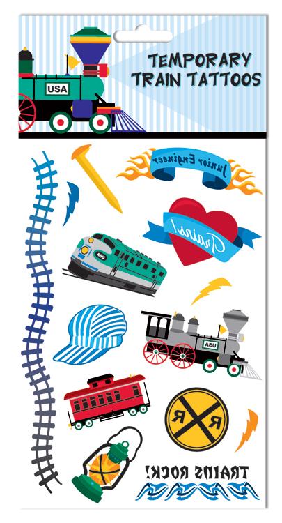 Boy Train Tattoos,03/8785