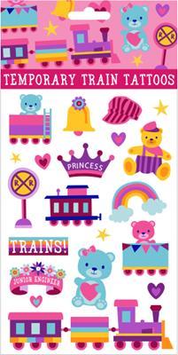 Girl Train Tattoos,03/8786