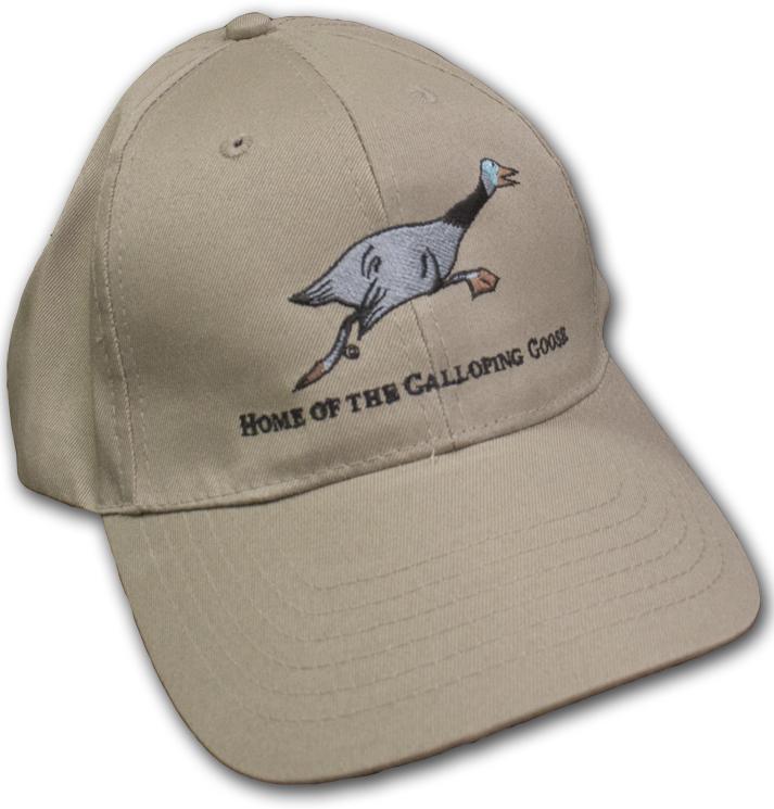 Galloping Goose Khaki Baseball Hat