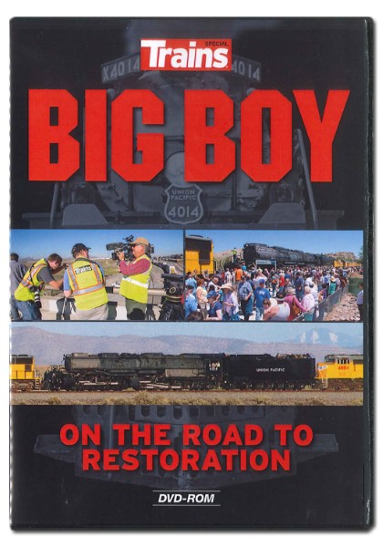 Big Boy On The Road to Restoration - DVD Video,15109