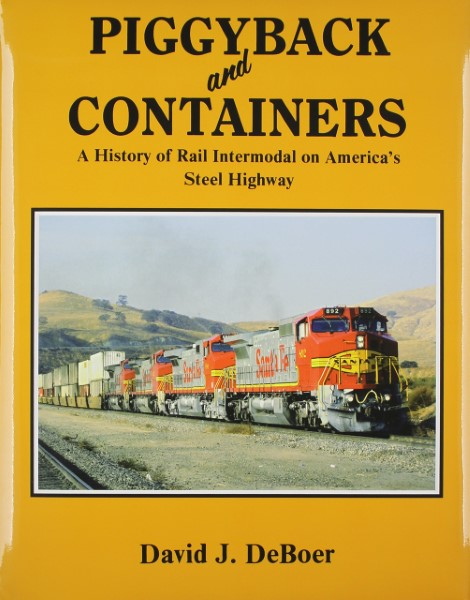 USED BOOKS - Piggyback and Containers - A History of Rail In