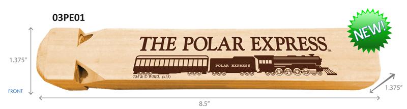 Polar Express Wood Train Whistle,SL160807