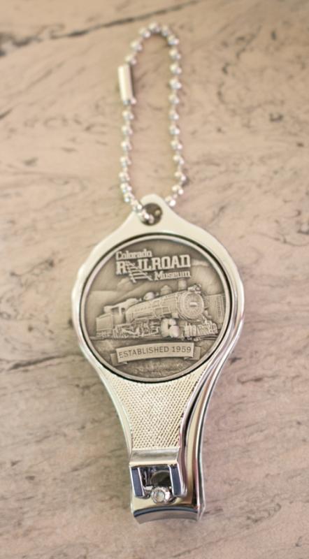 Colorado Railroad Museum Nail Clipper/ Bottle Opener,710
