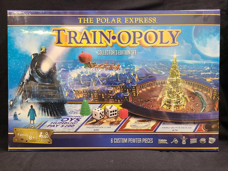 The Polar Express Train-Opoly Collector's Edition Board Game,41599