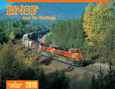 2018 Calendar - BNSF And Its Heritage