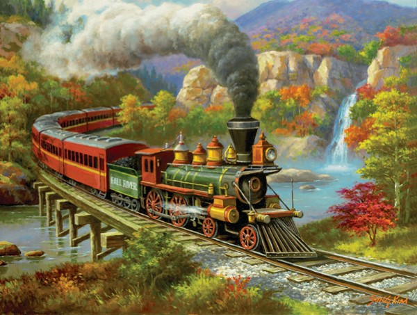Fall River- 500 Piece Puzzle,36652