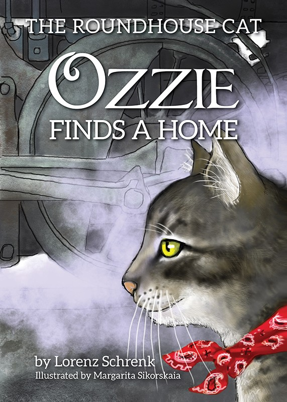 The Roundhouse Cat-Ozzie Finds A Home