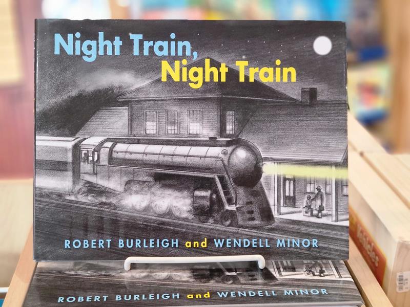 Night Train, Night Train,978-1-58089-717-4