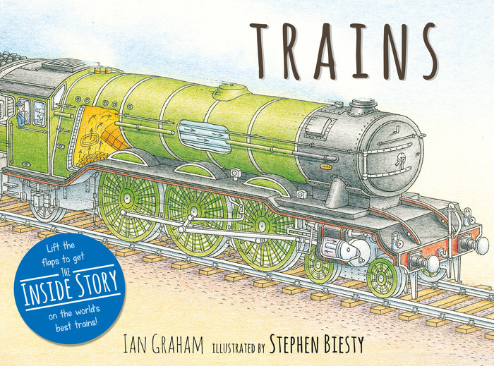 Trains- By Ian Graham,978-0-7636-9647-4