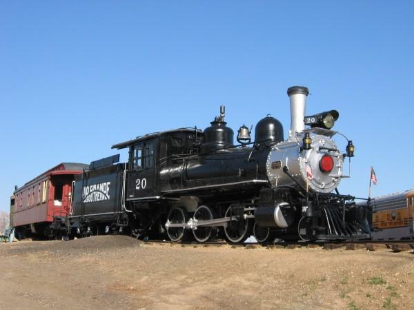 Rio Grande Southern Steam Locomotive No. 20 Restoration