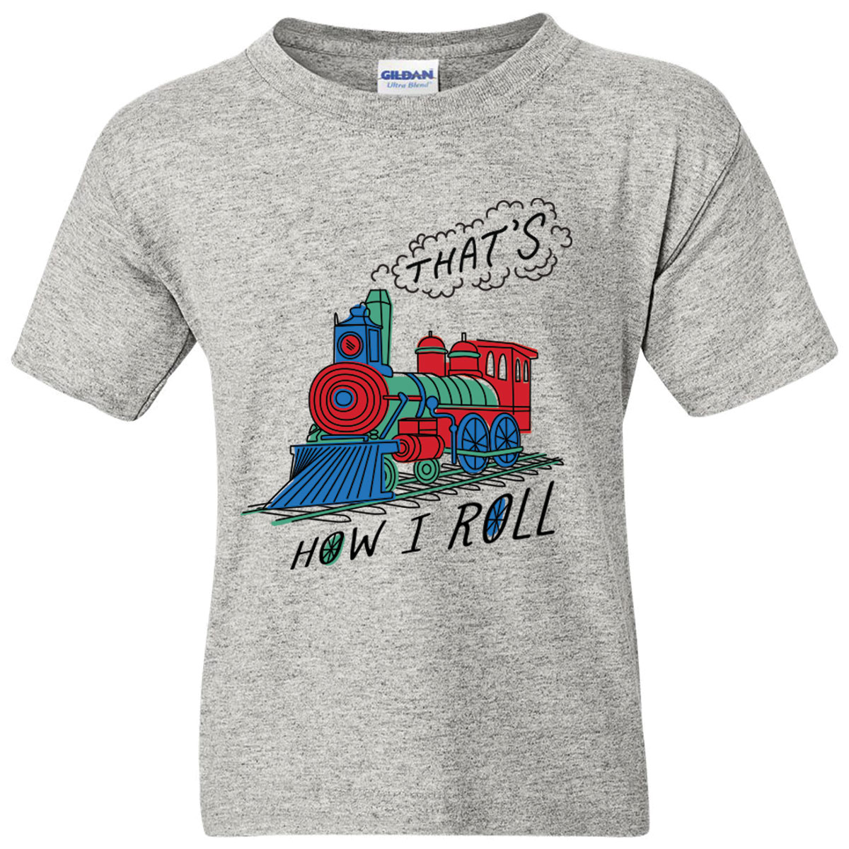 That's How I Roll Toddler & Youth Tee Shirt,03/906T4