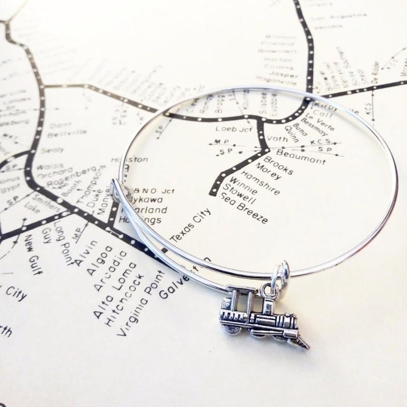 Steam Bangle Bracelet
