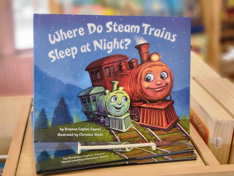 Where Do Steam Trains Sleep at Night?,9780553520989