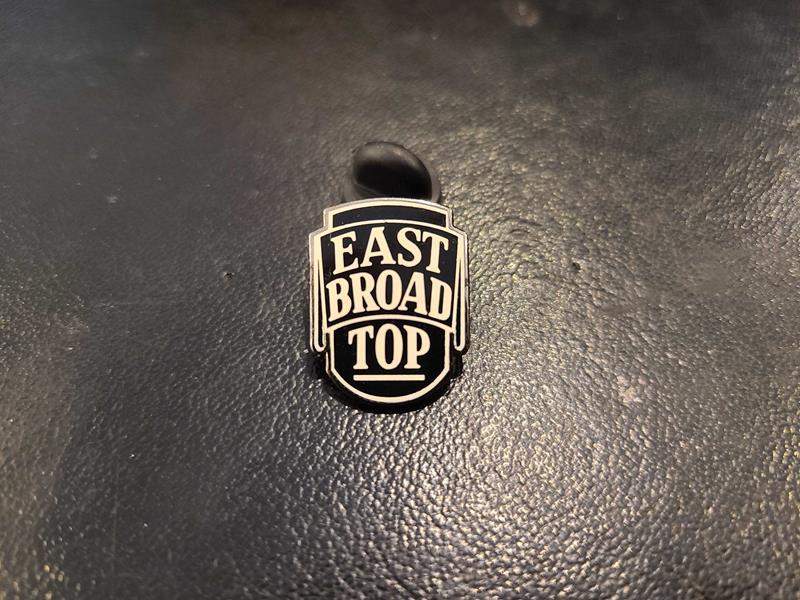 East Broad Top Pin,EBTH