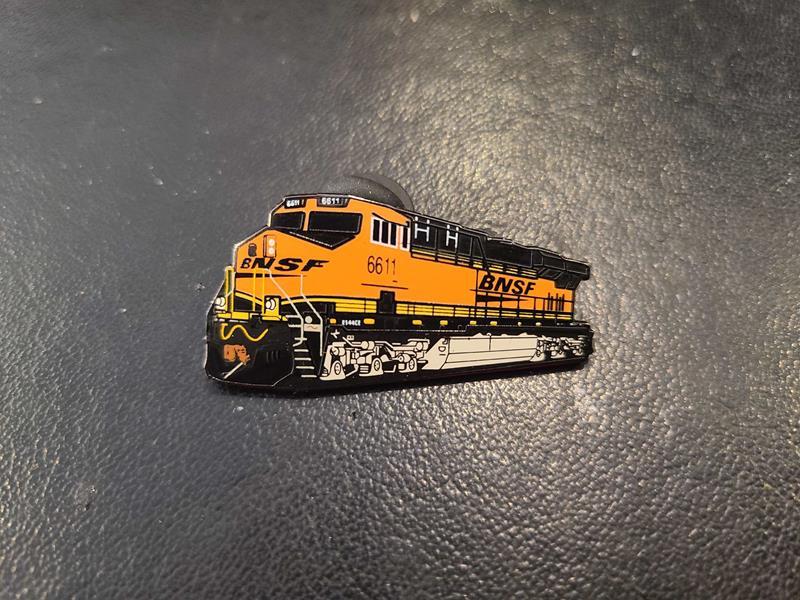 Burlington Northern #6611 Pin,BNES