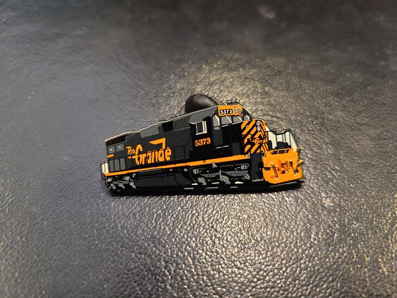 Rio Grande SD40-T2 #5373 Locomotive Pin,RGTM